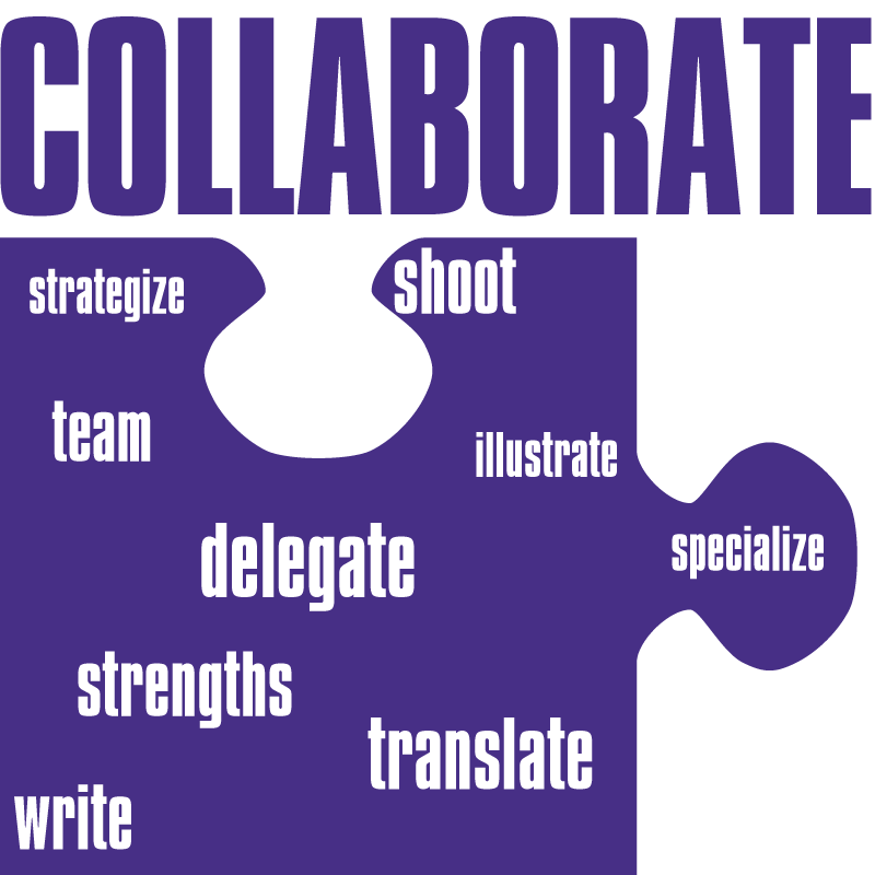 collaborate with other creatives